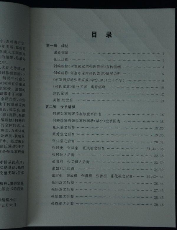 张氏家谱字辈大全; 家谱树形图模板
