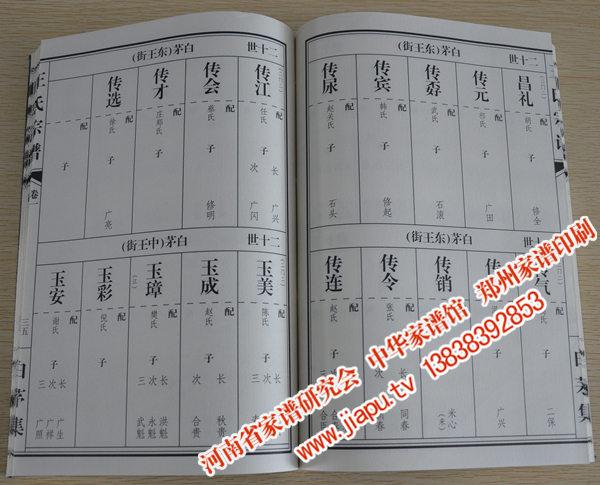 王氏族谱字辈排序查询图片