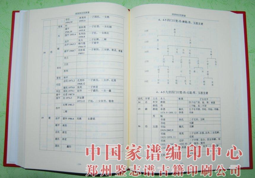 尉氏县舍茶岗王氏家谱图片