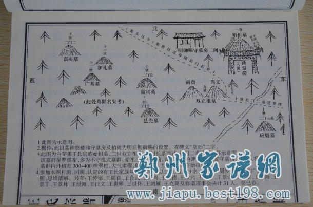 山东曹县王氏族谱-郑州家谱印刷厂图片